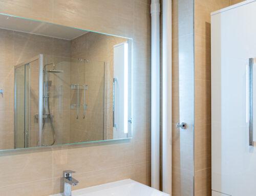 Standardní rekonstrukce koupelny a WC v Praze