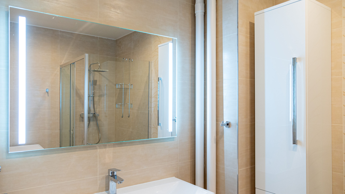 Standardní rekonstrukce koupelny a WC v Praze - RekoLux STAV s.r.o.