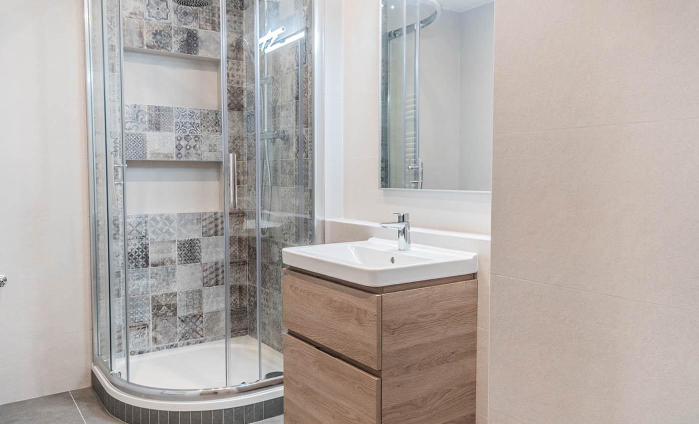 Rekonstrukce koupelen a WC